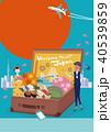 インバウンド 日本 旅行イメージ ポスター イラスト 40539859