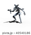 人型ロボット perming3DCGイラスト素材 40540186