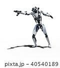 人型ロボット perming3DCGイラスト素材 40540189