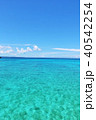 青空 海 沖縄の写真 40542254