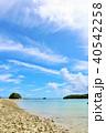 青空 海 沖縄の写真 40542258