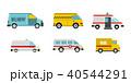 ワンボックスカー アイコン イコンのイラスト 40544291