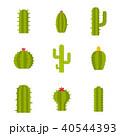 サボテン アイコン イコンのイラスト 40544393