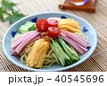 冷やし中華 食べ物 料理の写真 40545696