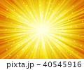 背景 放射状 光のイラスト 40545916