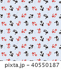 金魚 模様 パターンのイラスト 40550187