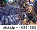 渋谷 スクランブル交差点 渋谷駅前の写真 40554888