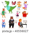 動物 ベクトル キャラクターのイラスト 40556027