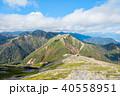常念岳 山頂 秋の写真 40558951
