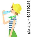 熱中症対策 40559284