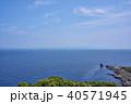 観音崎 東京湾 景色の写真 40571945