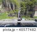 オロロンライン 白銀の滝(空撮) 40577482
