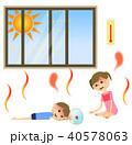 人物 子供 熱中症のイラスト 40578063