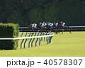 競馬 競走馬 レースの写真 40578307