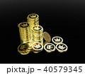 CG コイン 王冠のイラスト 40579345