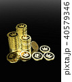 CG コイン 王冠のイラスト 40579346