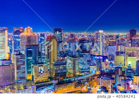大阪 キタ 都市景観 40584241