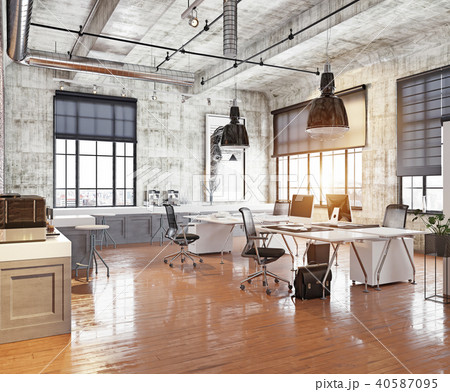 modern coworking office 40587095