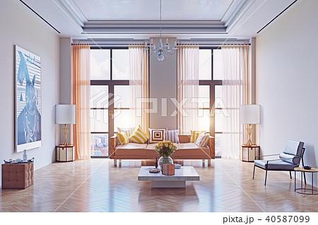 modern living room design. 40587099