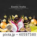 フルーツ 果実 果物のイラスト 40597380