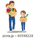 子ども 子供 ファミリーのイラスト 40598228