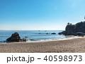 高知 桂浜の風景 40598973