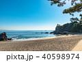 高知 桂浜の風景 40598974