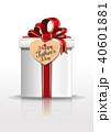 カード 葉書 名刺のイラスト 40601881