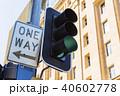 オーストラリア ブリスベンの街並み 信号機 40602778