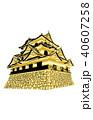 日本の城現存天守彦根城金 40607258