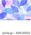 テクスチャー 背景素材 葉っぱのイラスト 40616002