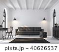 空間 部屋 黒色のイラスト 40626537