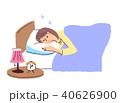眠る女性 40626900