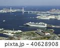 横浜港 東京湾 大型客船の写真 40628908