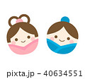 七夕 織姫 彦星のイラスト 40634551