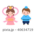 七夕 織姫 彦星のイラスト 40634719