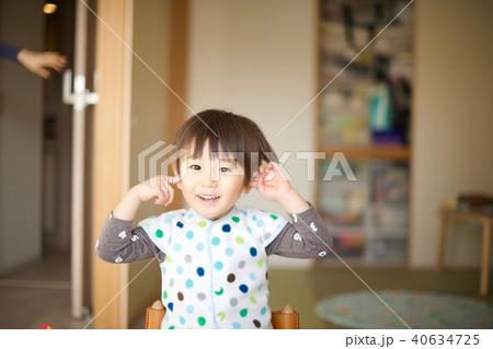 2歳児の男子/寝起き 40634725