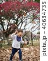 男の子 子供 幼稚園の写真 40634735
