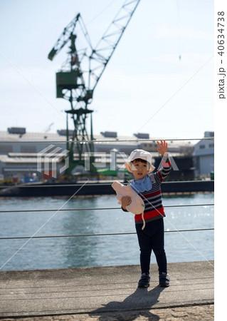 2歳児の男子/潜水艦と 40634738