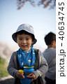 男の子 子供 幼児の写真 40634745