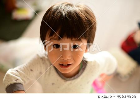 二歳児の日常/顔 40634858