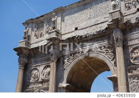 イタリア ローマ コンスタンティヌスの凱旋門 Italy Roma Arch of 40635930