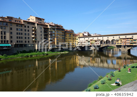イタリア フィレンツェ ヴェッキオ橋 Italy Florence Ponte Vecchio 40635942