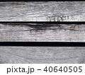 木目 古材の模様 40640505