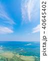 海 晴れ 自然の写真 40645402