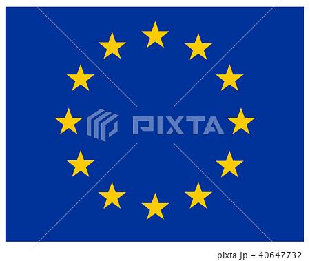 EUヨーロッパ連合 アイコン 旗の...