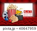映画 シネマ 映画館のイラスト 40647959