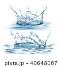 ウォーター 水 水分のイラスト 40648067