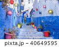 シャウエン 町並み 階段の写真 40649595