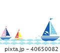 ヨット3 海 波 40650082